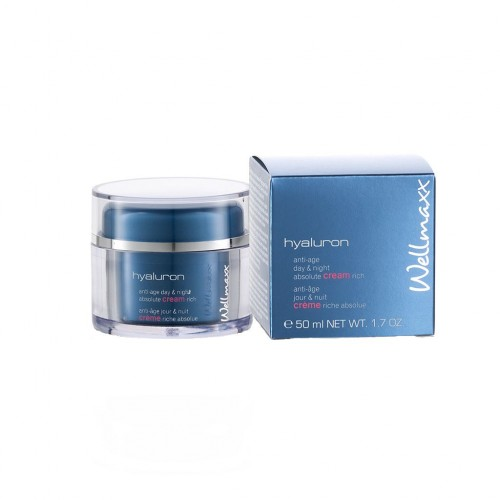 hyaluron anti-age day & night absolute cream rich, 50 ml