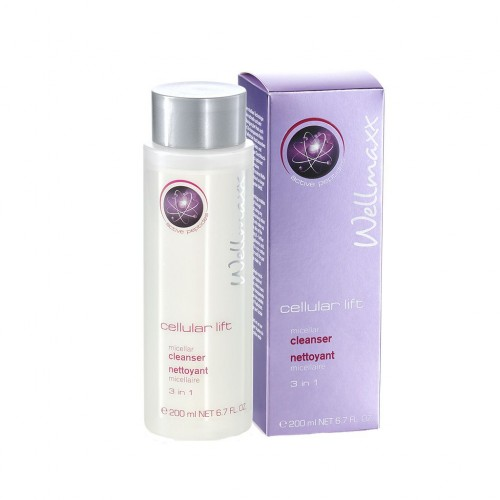 Wellmaxx cellular lift micellar cleanser 3 in 1, 200ml