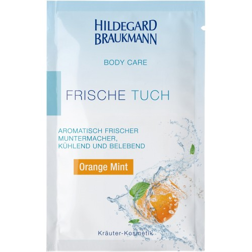 Orange Mint Frische Tücher