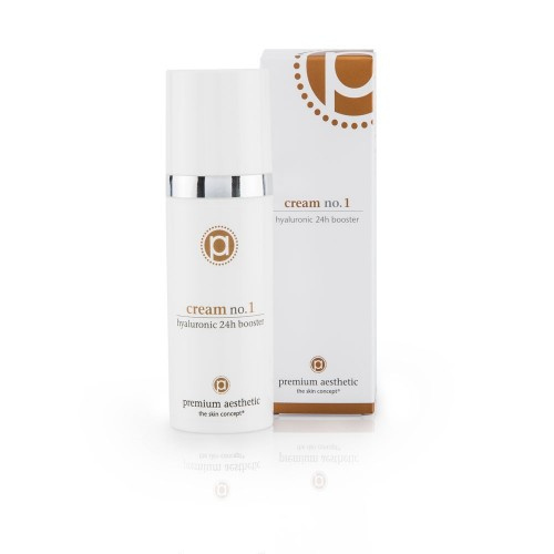 premium aesthetic Cream No.1 hyaluronic 24h booster