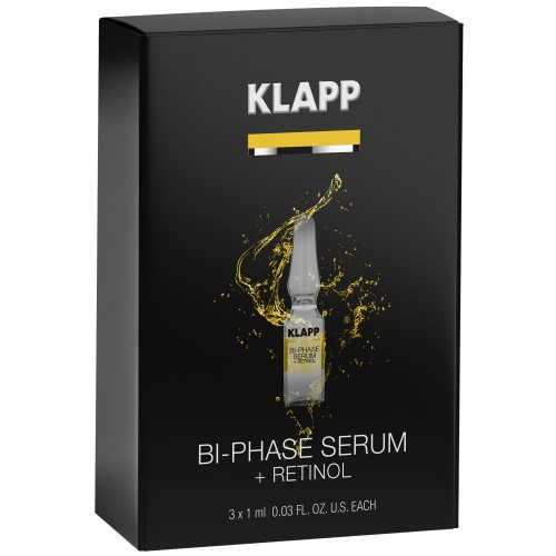 KLAPP POWER EFFECT Bi-Phase Serum + RETINOL