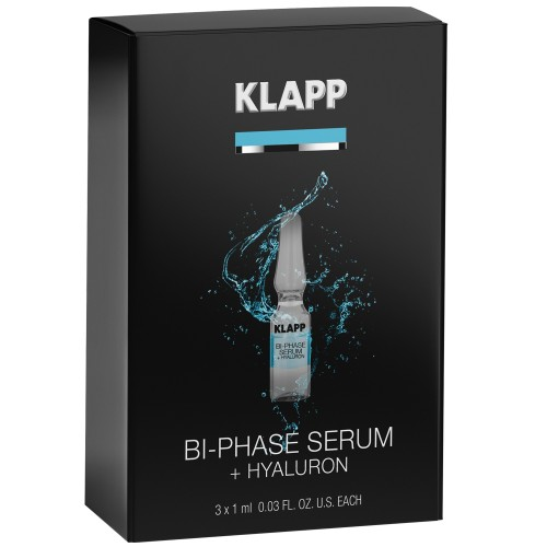 KLAPP POWER EFFECT Bi-Phase Serum + HYALURON 3x1ml