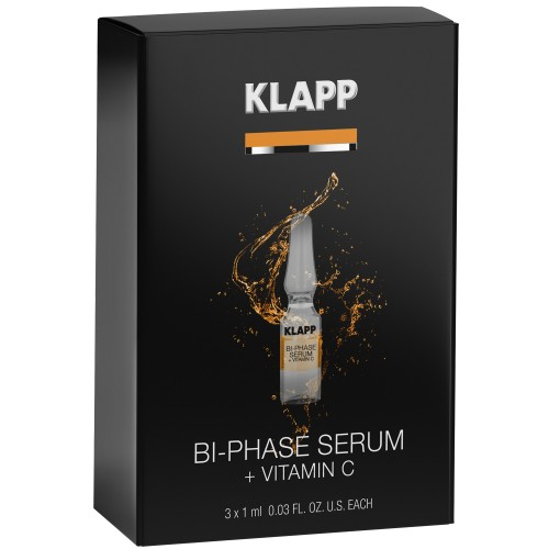 KLAPP POWER EFFECT Bi-Phase Serum + VITAMIN C 3x1ml