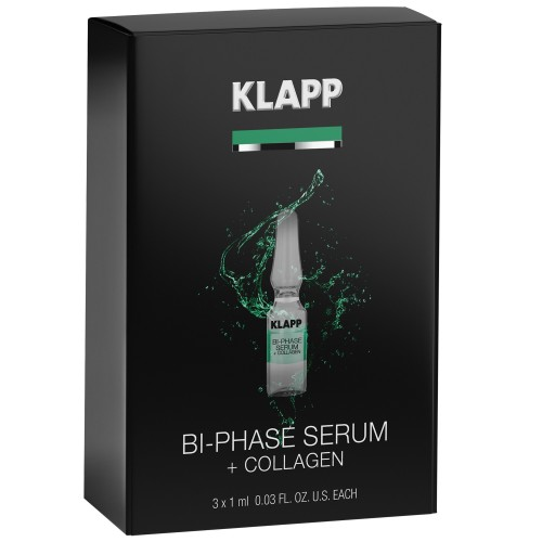 KLAPP POWER EFFECT Bi-Phase Serum + COLLAGEN 3x1ml